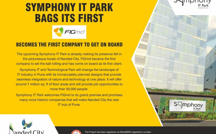 Symphony IT PARK Bags its first: FIGmd becomes the first company to get on Board