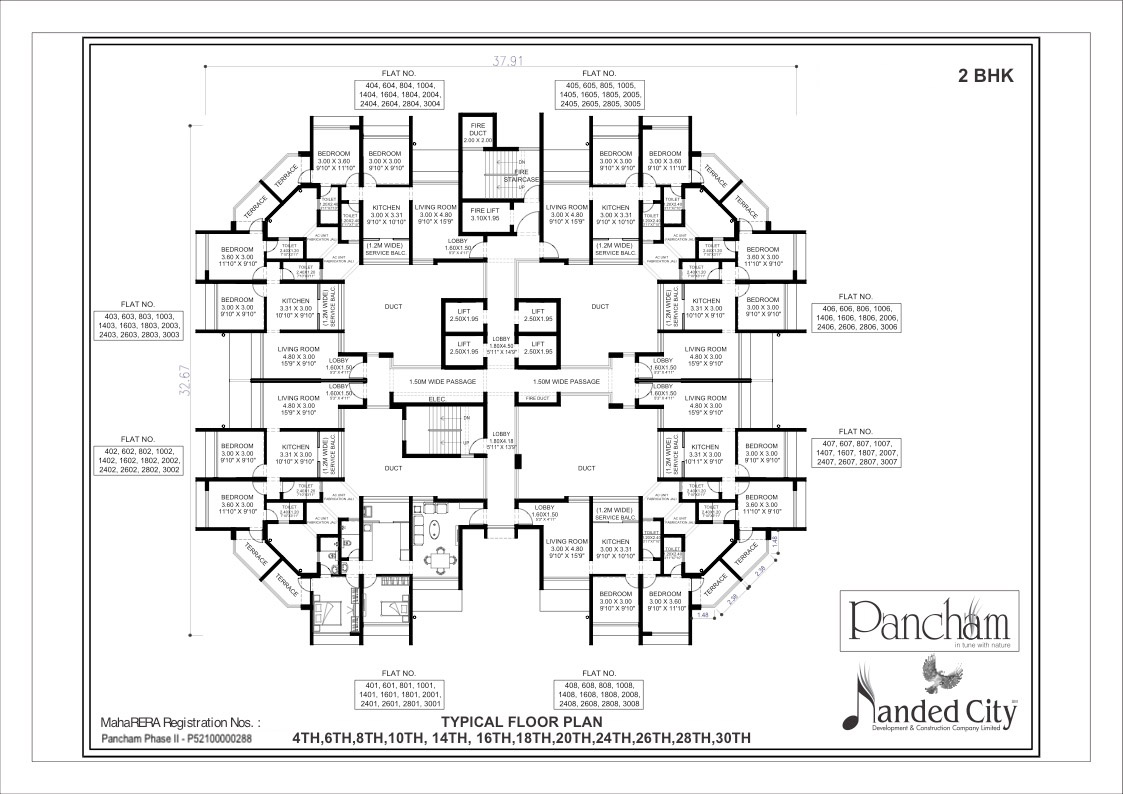 2 BHK Luxury Residential Flats for Sale   Sinhagad road, Pune