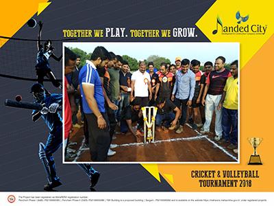 Cricket & Volleyball Tournament 2018