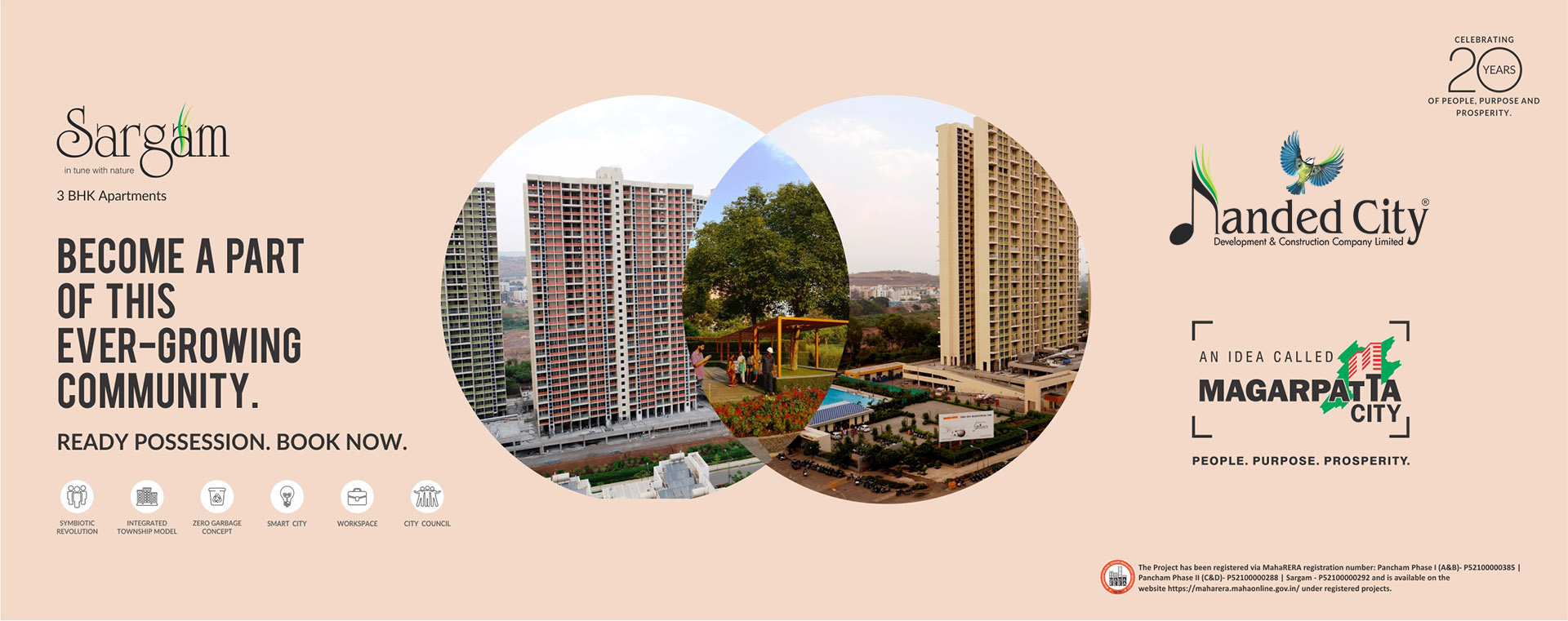 2 BHK Residential Apartments in Pune