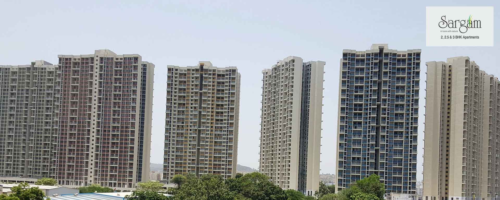 Gated community 2, 2.5&3 bhk apartments in pune